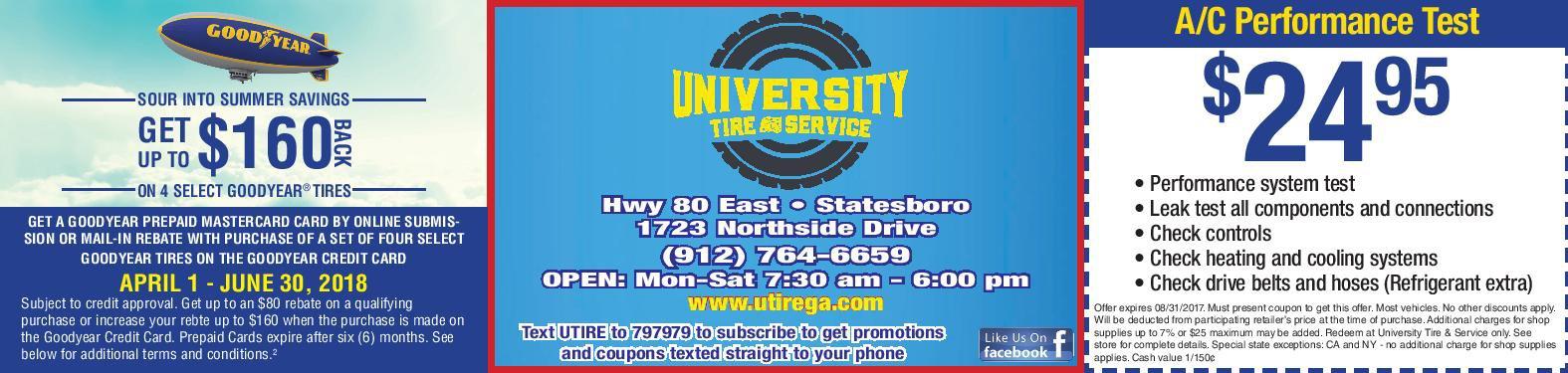 University Tire Image