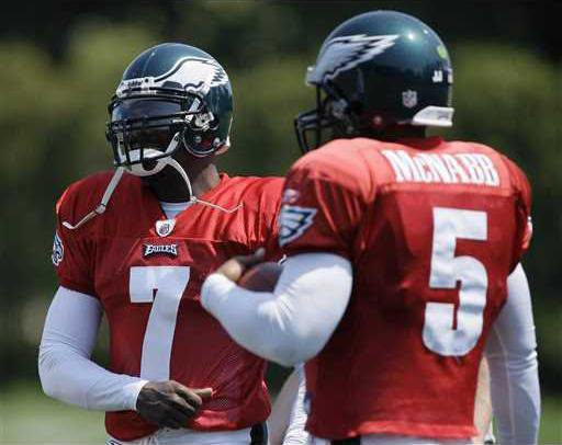 Vick and McNabb could team up in Philly backfield - Statesboro Herald a09c2b00d