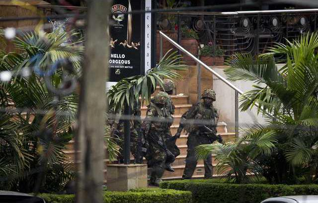 Kenya Mall Attack Werm