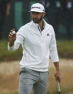 Dustin Johnson takes the lead in U.S. Open