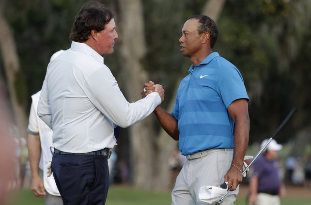 Mickelson and Tiger