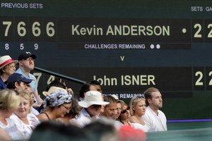 Isner - Wimbledon