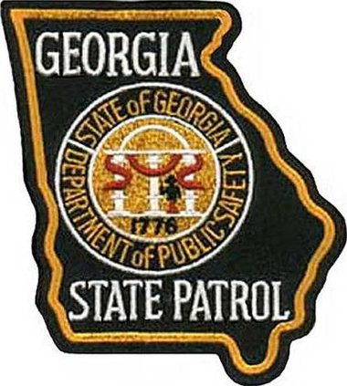 W Georgia State Patrol patch