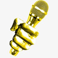 Statesboro Voice_gold hand and mic.jpg